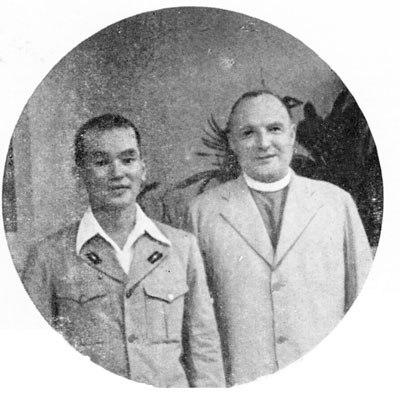 Andrew Ogawa with Bishop Wilson