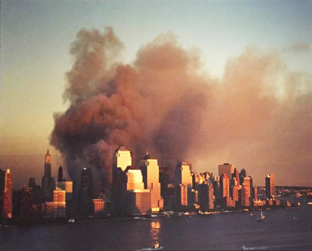 After the planes hit the Twin Towers
