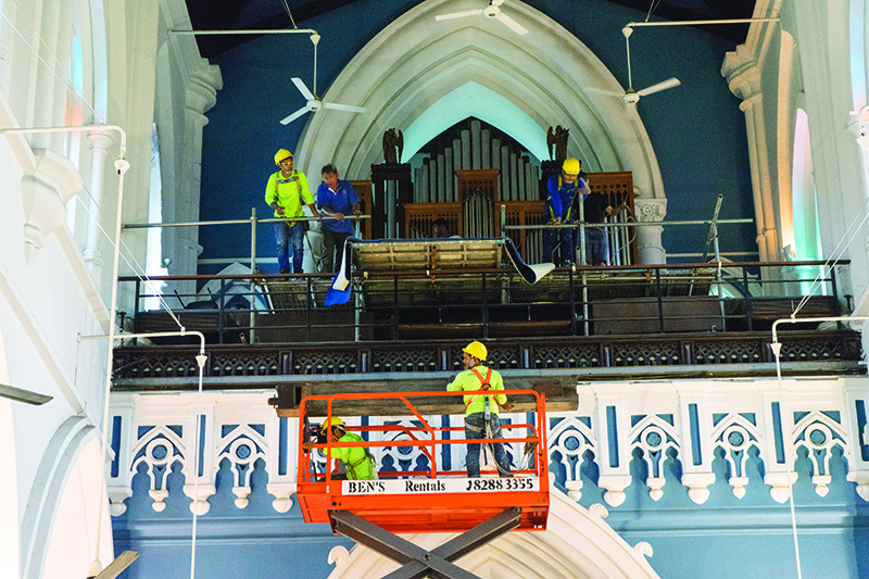 Making The Pipes Speak Again | Courier-Online | St Andrew's