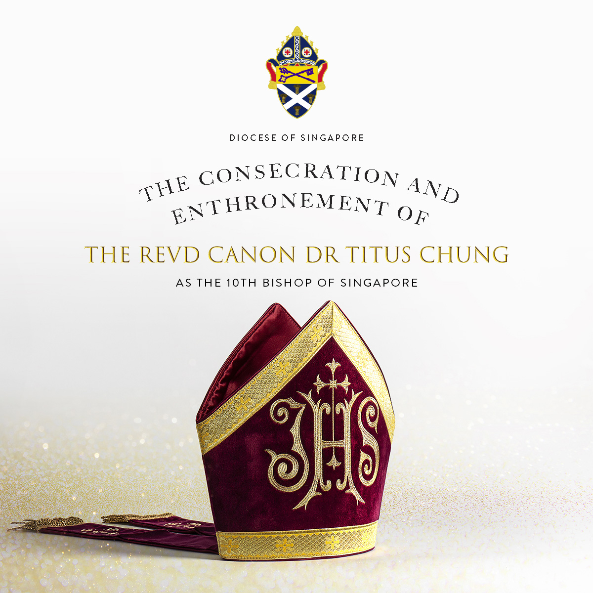 The Consecration and Enthronement of The Revd Canon Dr Titus Chung