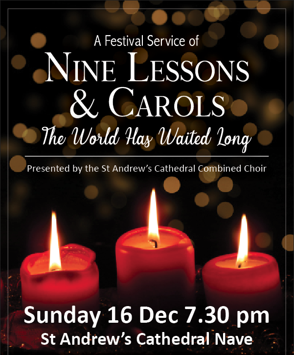 Lessons & Carols: The World Has Waited Long