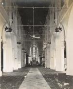 An Empty Nave During the Fall of Singapore to the Japanese Army